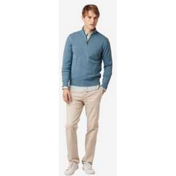 Boomerang Foreman Half Zip Sweater - Vintage Indigo