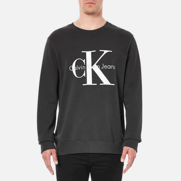 Calvin Klein Logo Sweatshirt - CK Black