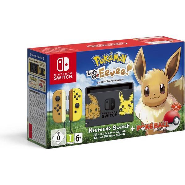 Nintendo Switch - Yellow - Pokémon: Let's Go, Eevee!
