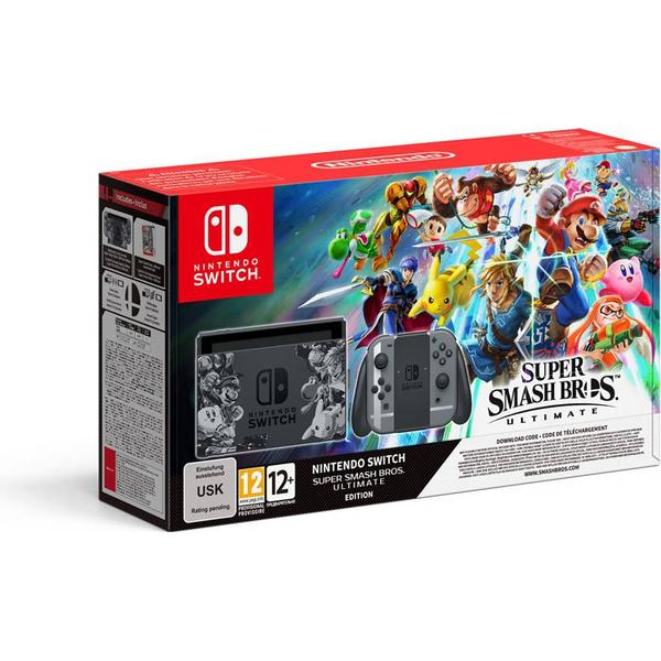 Nintendo Switch - Grey - Super Smash Bros. Ultimate