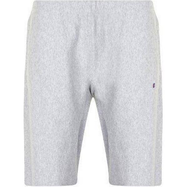 Champion Basic Logo Shorts Light Grey