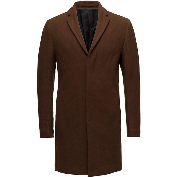 Selected Slhbrove Wool Coat Monks Robe