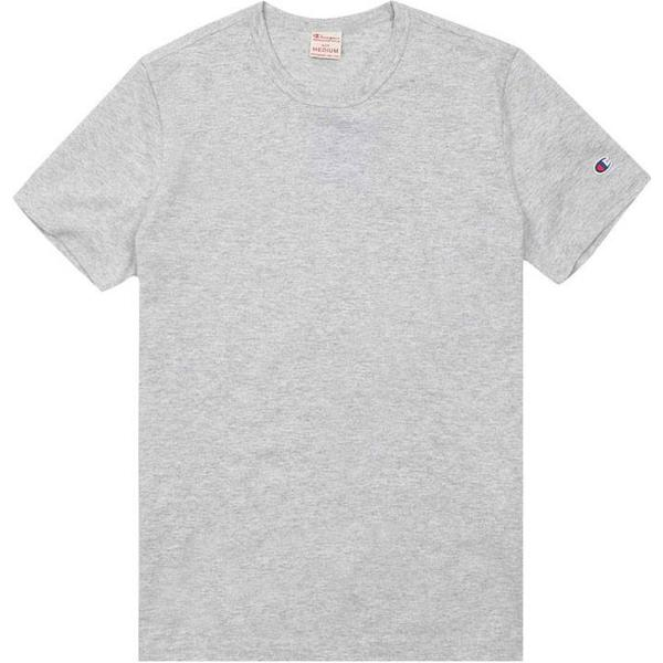 Champion Crew Neck T-shirt Light Grey