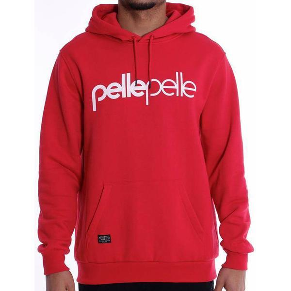 Pelle Pelle Back 2 the Basics Hoodie - Red