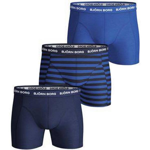 Björn Borg Stripe Essential Shorts 3-pack Peacoat (1831-1034_70011)