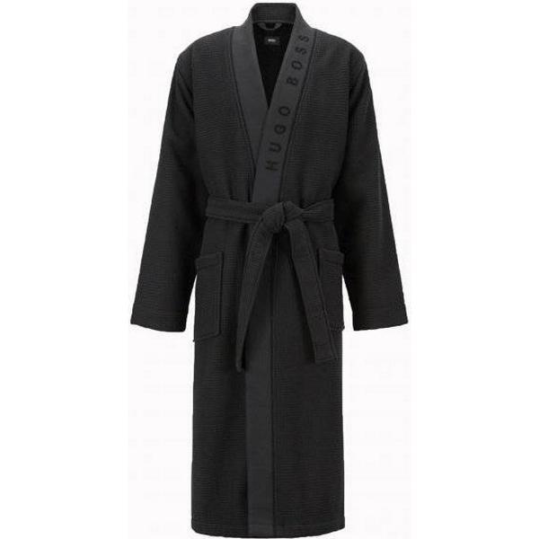 Hugo Boss Waffle Kimono - Black