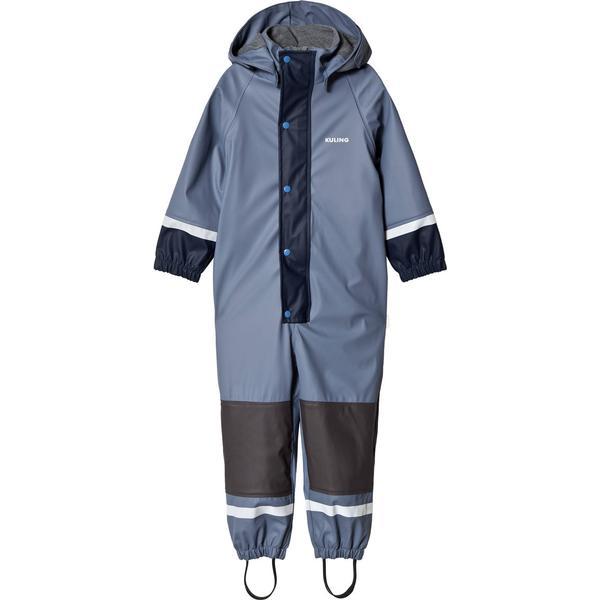 Kuling Fleece Douglas Outdoor Regnoverall - Flintstone Blue (266287)