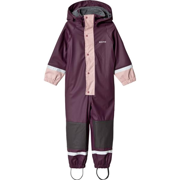 Kuling Fleece Douglas Outdoor Regnoverall - Berry Plum (266288)
