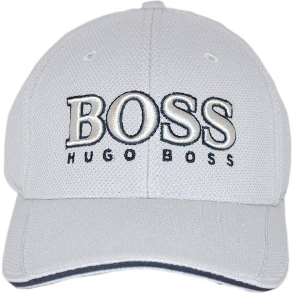 Hugo Boss Baseball Cap Light Grey