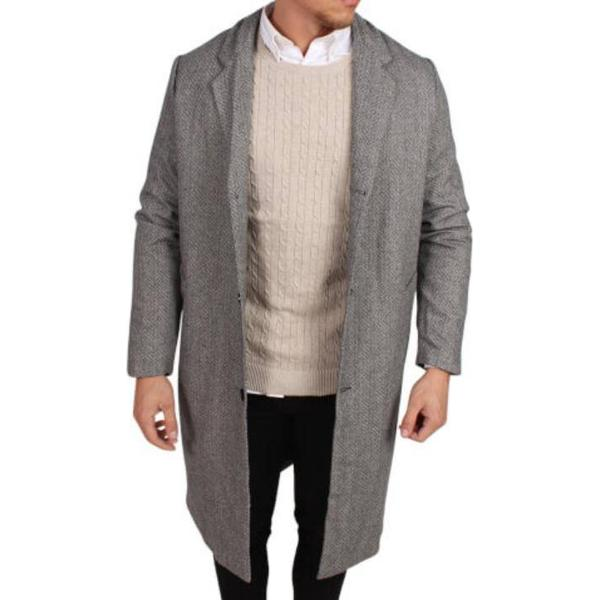 Legends Jefferson Coat Herringbone - Grey