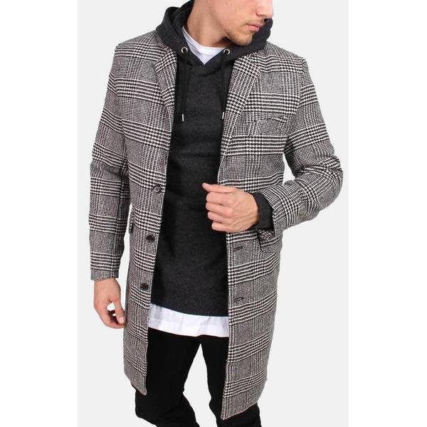 Legends Pier Rock Coat Black/White