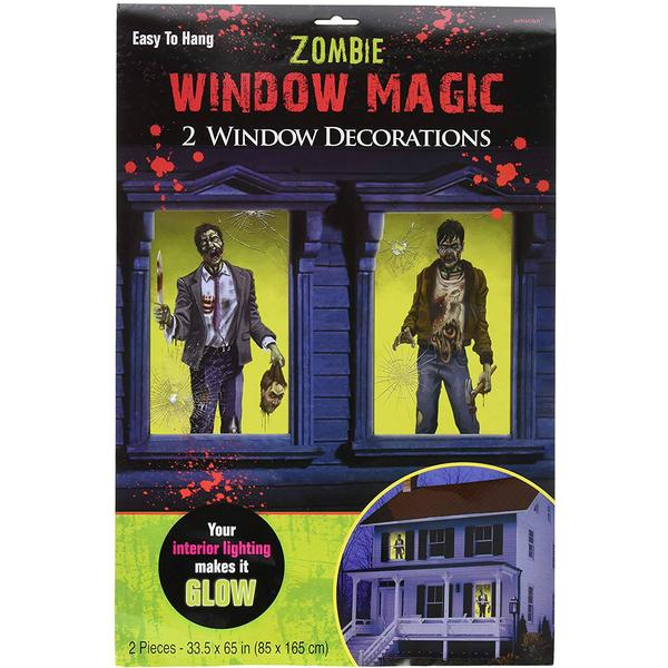 Amscan Window Magic 2-pieces (670589)