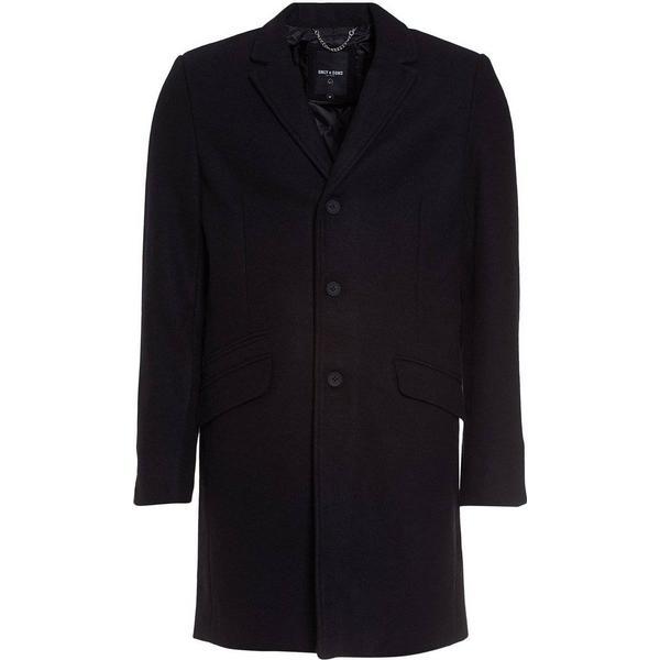 Only & Sons Julian Coat - Black