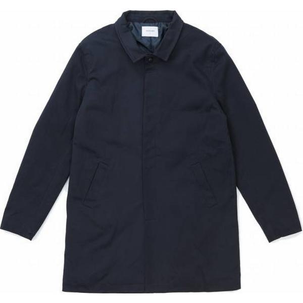 Legends Gaviota Trench Coat - Navy Blue