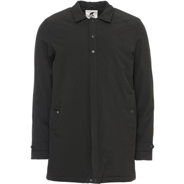 Fat Moose Trench Tech Coat - Black