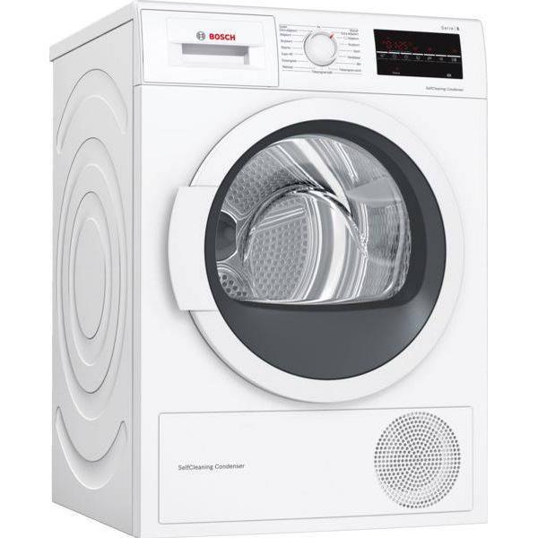 Bosch WTR85VI8SN Hvid