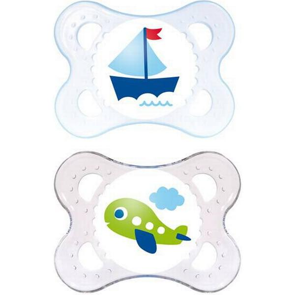 Mam Original Silicone Pacifier 0-6m 2-pack