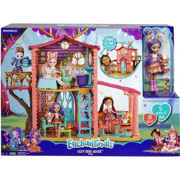 Mattel Enchantimals Cozy Deer House Playset