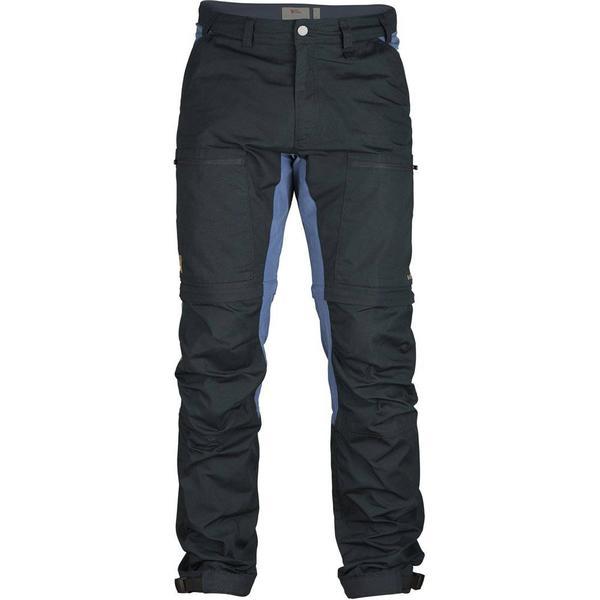 Fjällräven Abisko Lite Trekking Zip-Off Tr - Dark Grey/Black