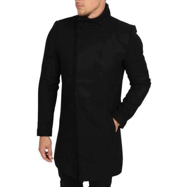 Only & Sons Oscar Rock Exp Coat - Black