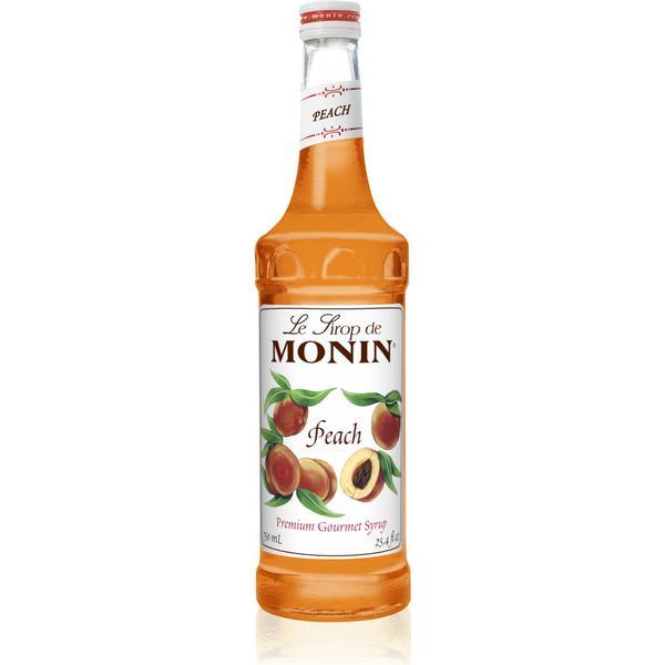 Monin Premium Peach Syrup 0.75L