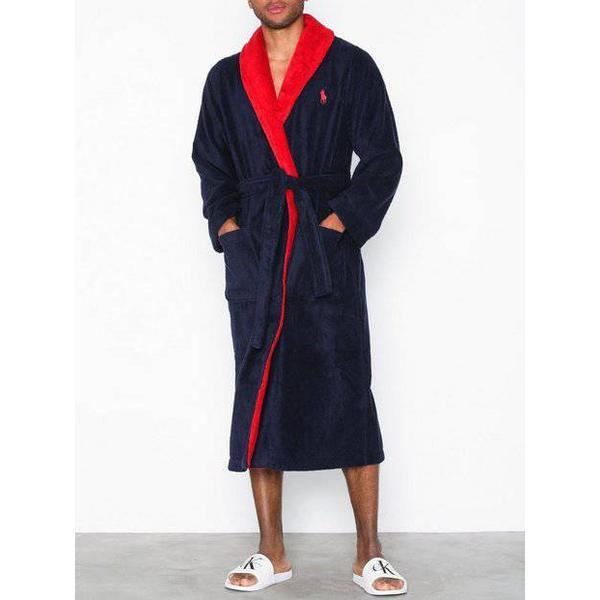 Polo Ralph Lauren Shawl Robe - Navy