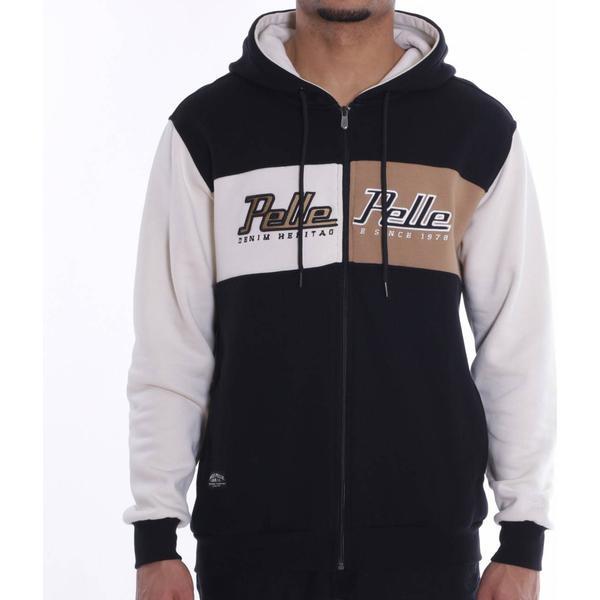 Pelle Pelle Heritage Zip Hoodie - Balck