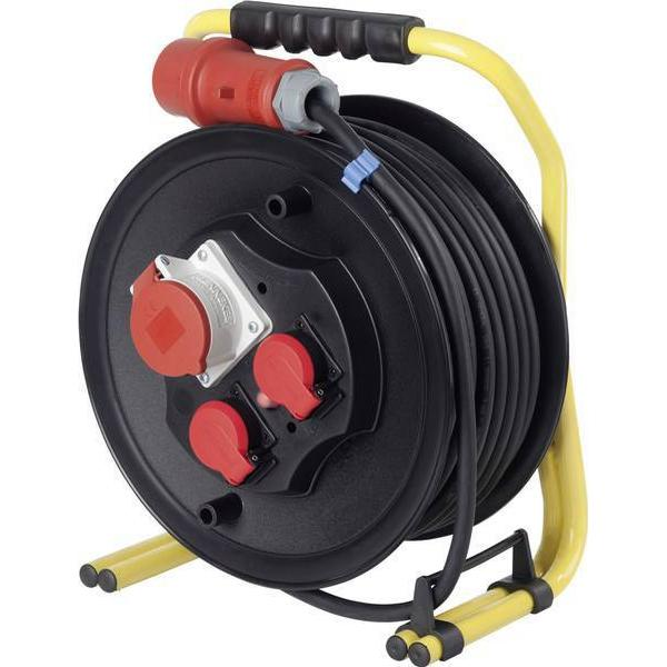 as - Schwabe 20654 3-way 40m Cable Drum