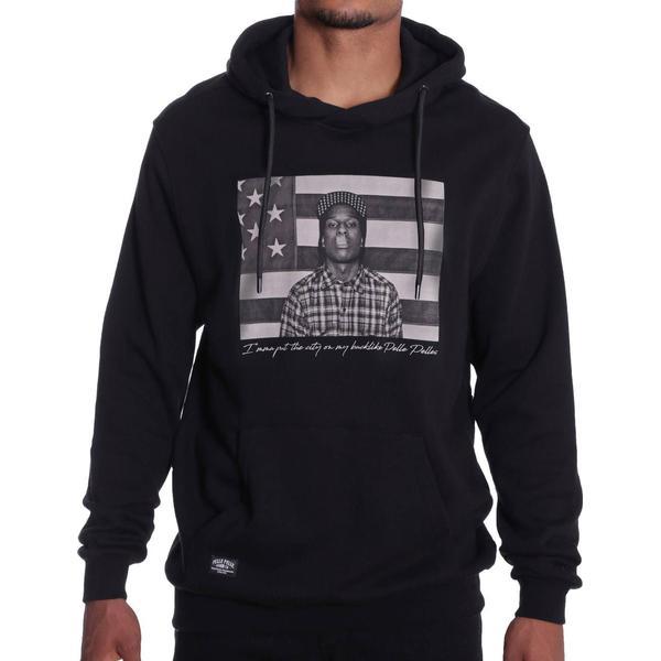 Pelle Pelle A$ap Flag Hoodie - Black