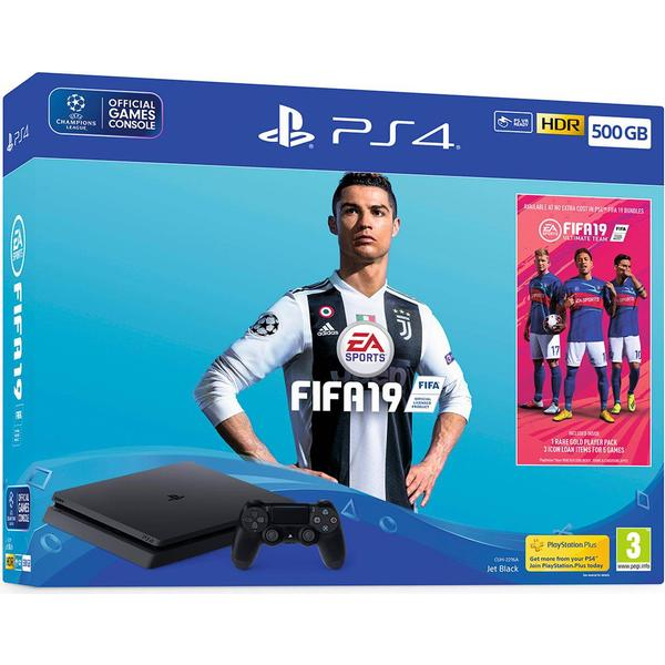 Sony PlayStation 4 Slim 500GB - Fifa 19 Bundle