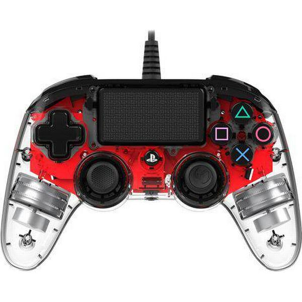 Nacon PS4 Compact LED Controller - Red