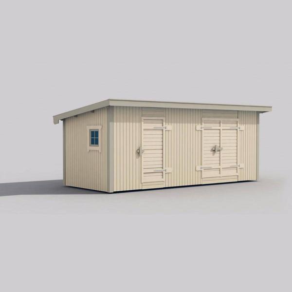 Trähuset Saga (Byggnadsarea 15 m²)