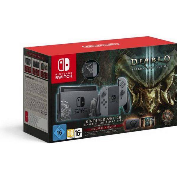 Nintendo Switch - Grey - Diablo III - Limited Edition