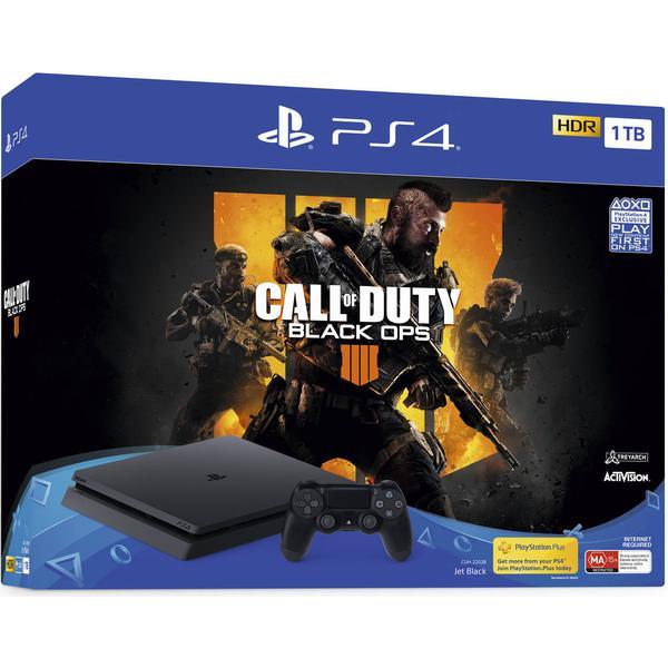 Sony PlayStation 4 Slim 1TB - Call of Duty: Black Ops IIII