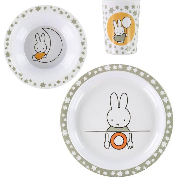 Teddykompaniet Miffy Melaminset 3 delar