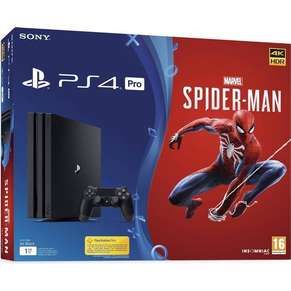 Sony PlayStation 4 Pro 1TB - Marvel's Spider-Man