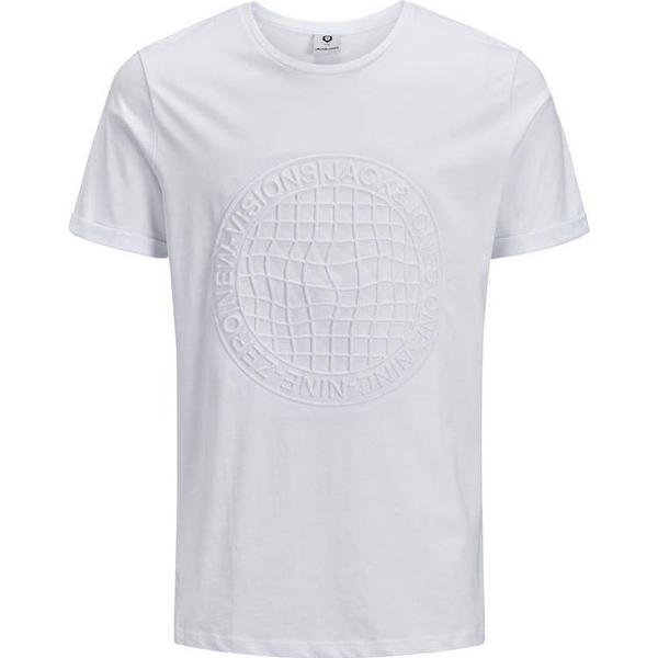 Jack & Jones Tone-in-Tone T-shirt - White/White