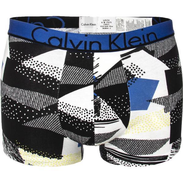 Calvin Klein ID Cotton Trunk - White/Blue