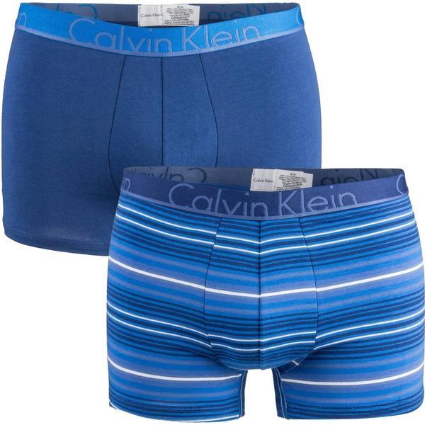 Calvin Klein ID Cotton Trunk 2-pack - Blue