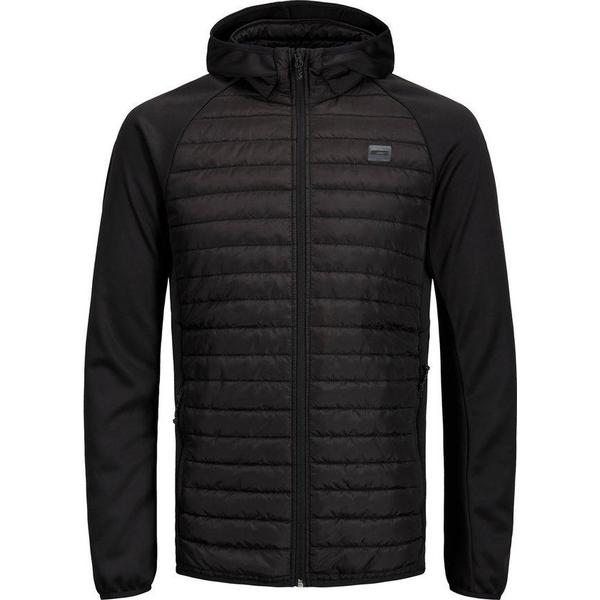 Jack & Jones Multi Quilted Jacket - Black/Black