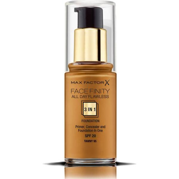 Max Factor Facefinity All Day Flawless 3 in 1 Foundation SPF20 #95 Tawny