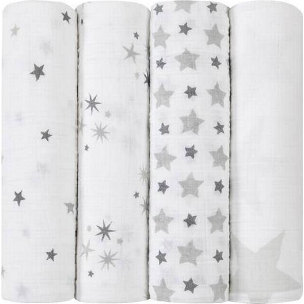 Aden + Anais Classic Twinkle Swaddles Set 4-pack