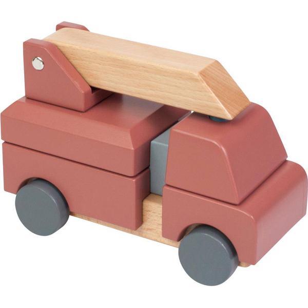 Sebra Wooden Fire Truck