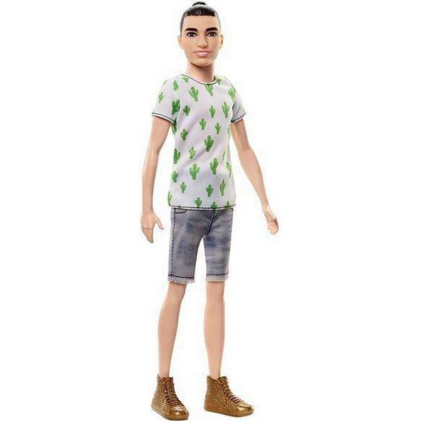 Mattel Ken Fashionistas Doll 3 Cactus Cooler Slim