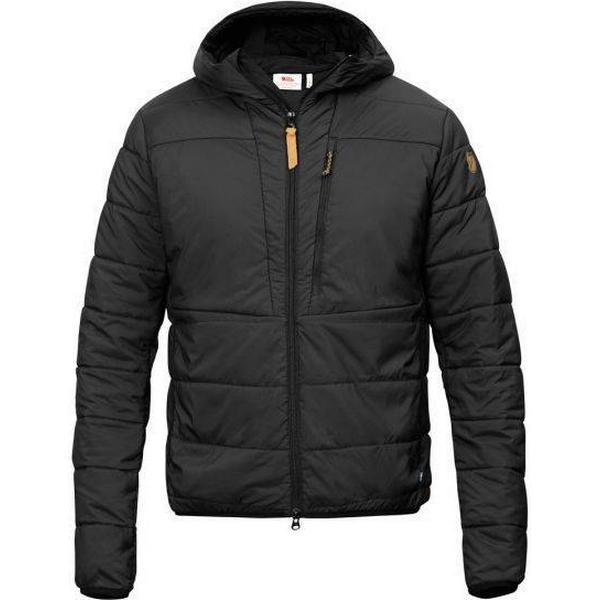 Fjällräven Keb Padded Hoodie Jacket - Black