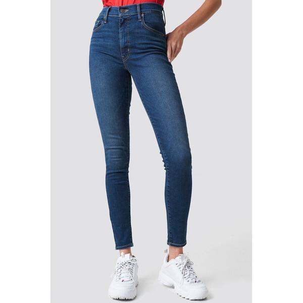 Levi's Mile High Super Skinny Jeans - Breakthrough Blue