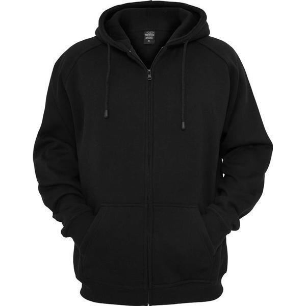 Urban Classics Zip Hoodie - Black