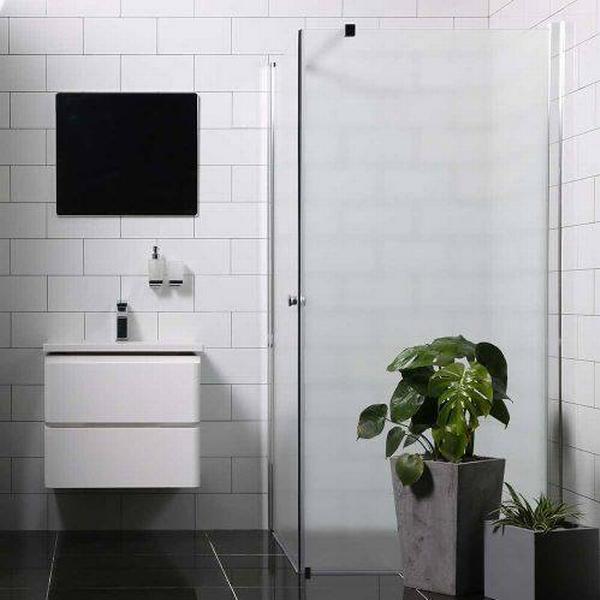 Bathlife Mångsidig (790634) Brusehjørne 900x1000mm