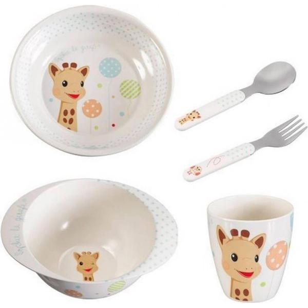 Sophie la girafe Mealtime Set Kiwi Version 460006