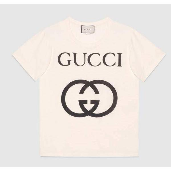 Gucci Oversize T shirt - Off white